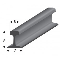 Profilé Rail Gris 33 cm