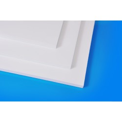 Plaque PVC Mousse Blanc 328...