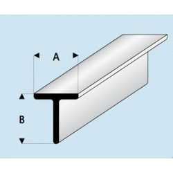 Profilé styrène en T