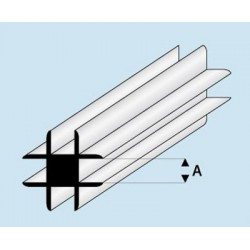 Profilé angle croix